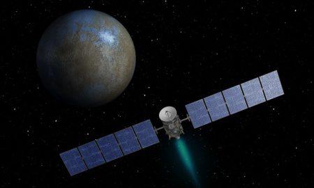 Dawn Spacecraft Ceres Orbit