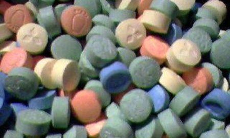 Ecstasy Drug Pills