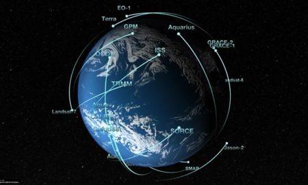 NASA Satellite Video Still