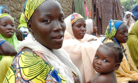 Nigerian Women Struggle For The Release Of School Girls