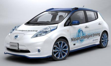 Nissan Self-Driving Vehicle Prototype