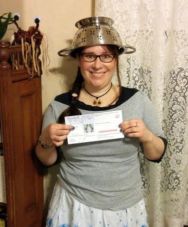 Lindsey Miller Spaghetti Strainer Driver's License
