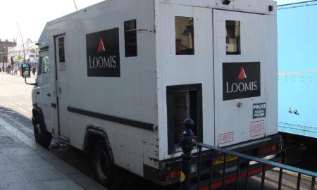 Loomis Armored Car
