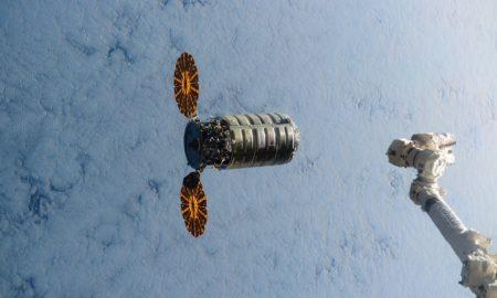 Cygnus Spaceship ISS