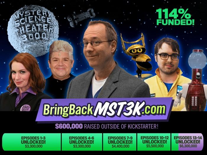Mystery Science Theater 3000 Kickstarter