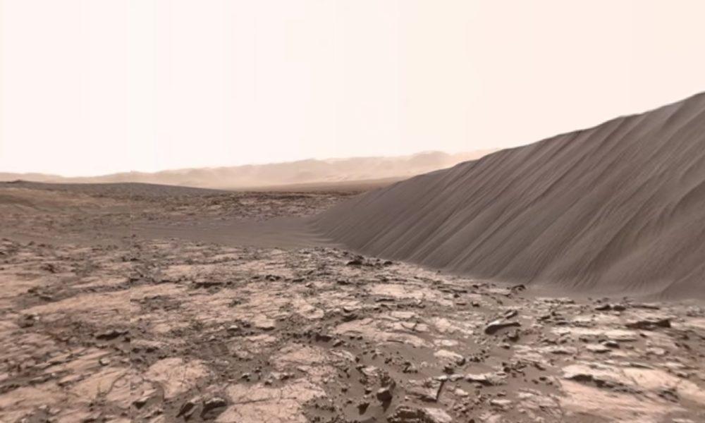 Mars Dunes 360 Degrees View